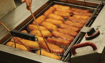Commercial deep fat fryers