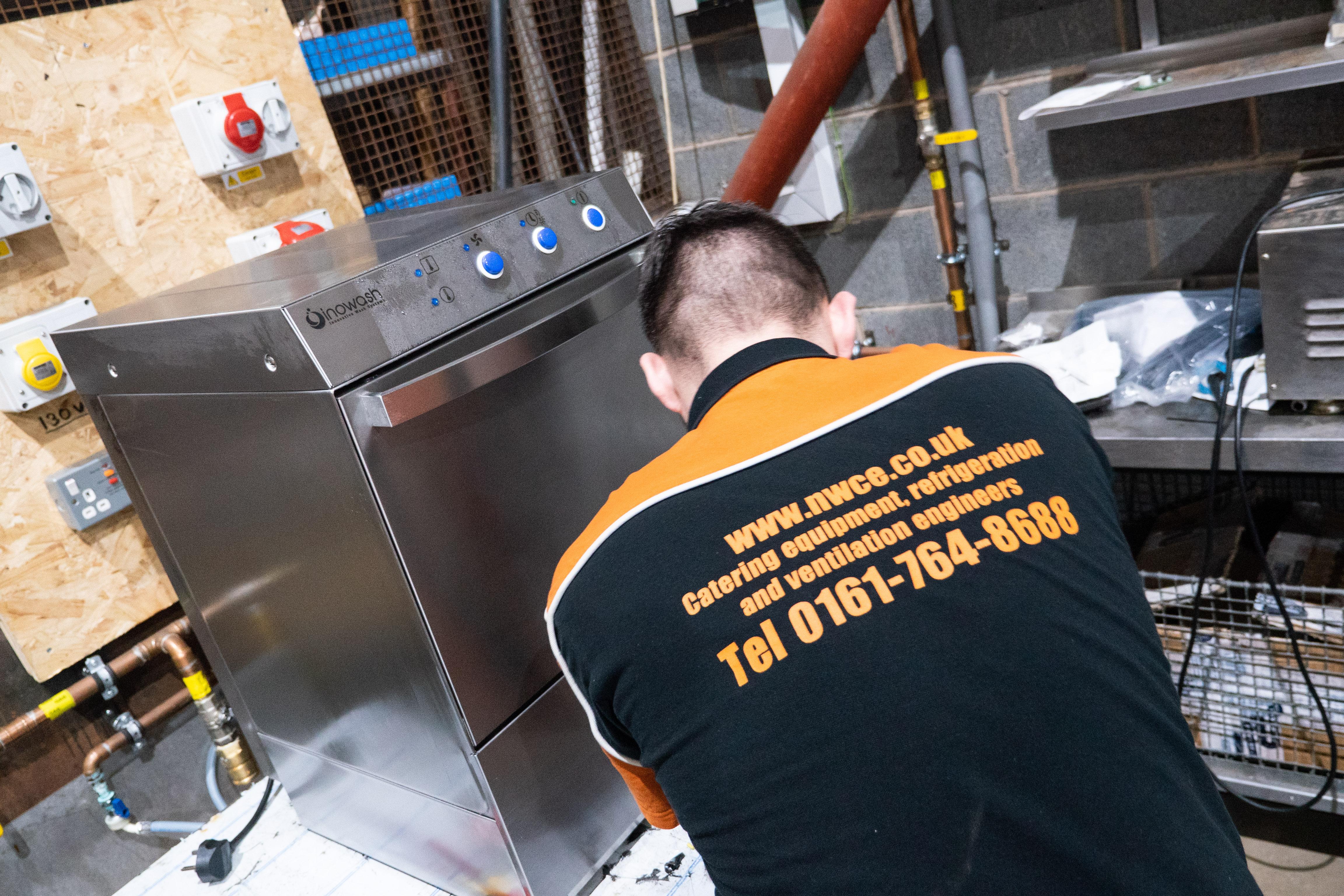 NWCE dishwasher service