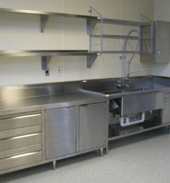 commercial kitchen fabrication south west