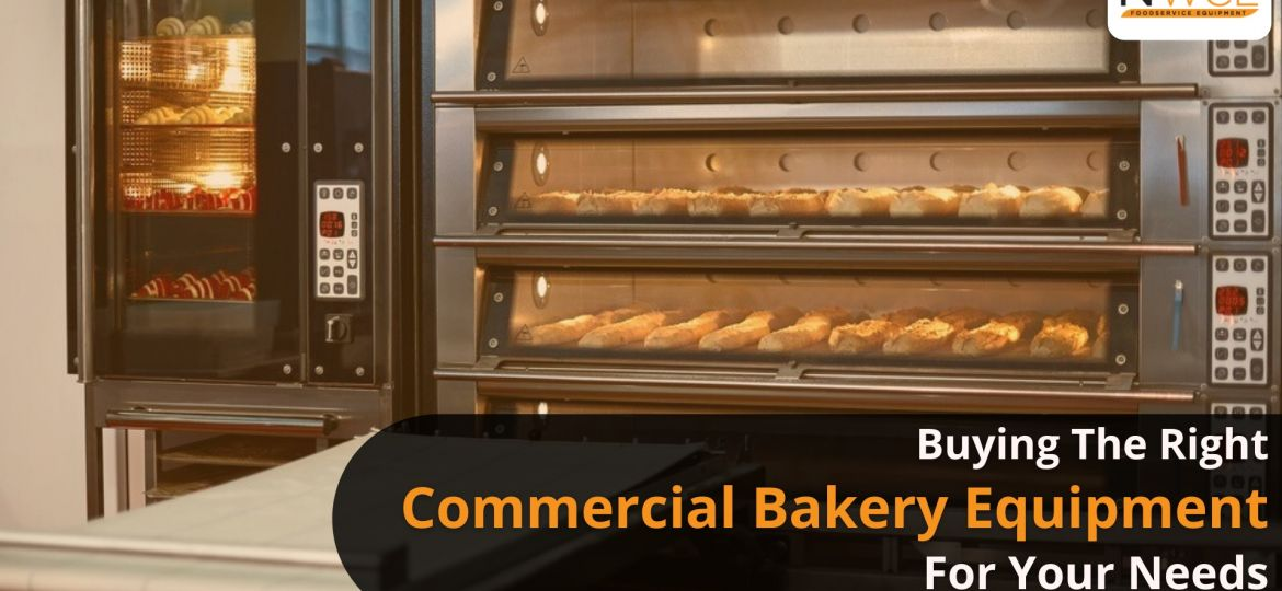 Buying the right commercial bakery equipment for your needs